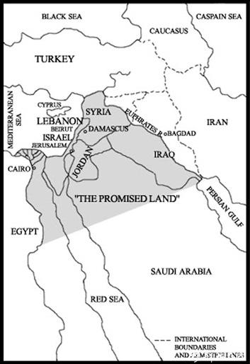 ارض موعود یا اسراییل بزرگ