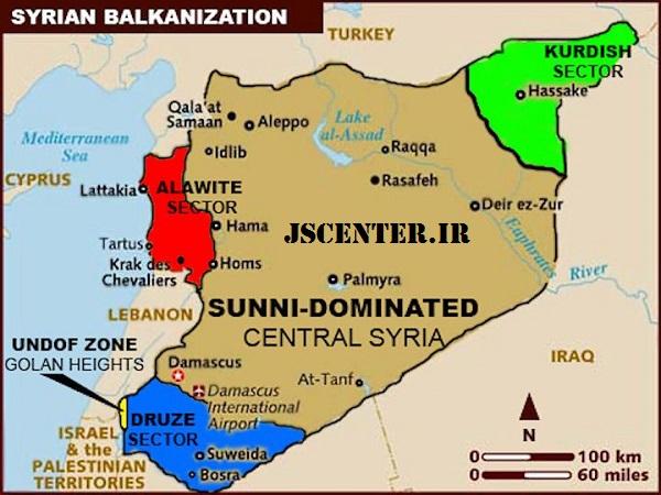 بالکانیزاسیون و تجزیه سوریه