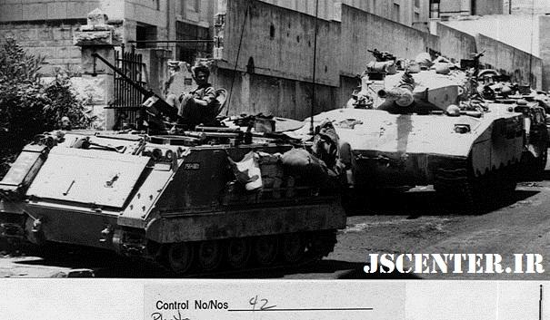 تجاوز نظامی اسراییل به لبنان