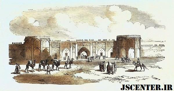 دروازه بندر بوشهر محل تجارت خاندان باب