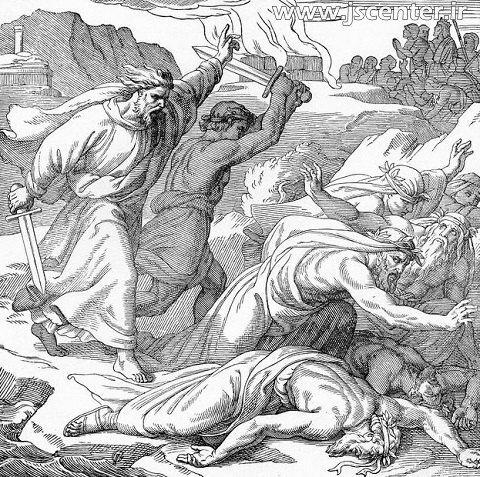ایلیا ( الیاس ) و پیامبران بعل