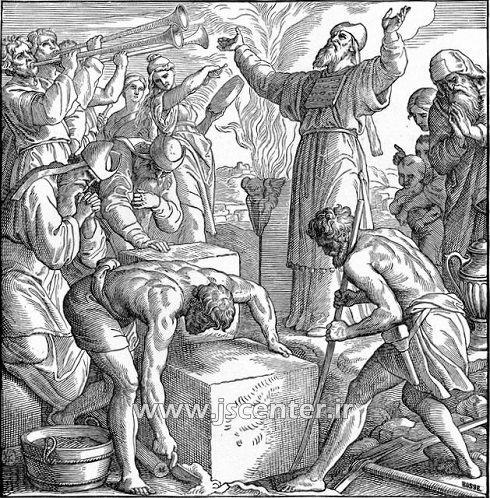 بازسازی معبد سلیمان توسط زروبابل