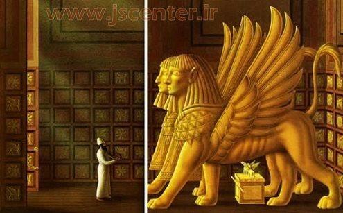بتهای کنعانی معبد سلیمان