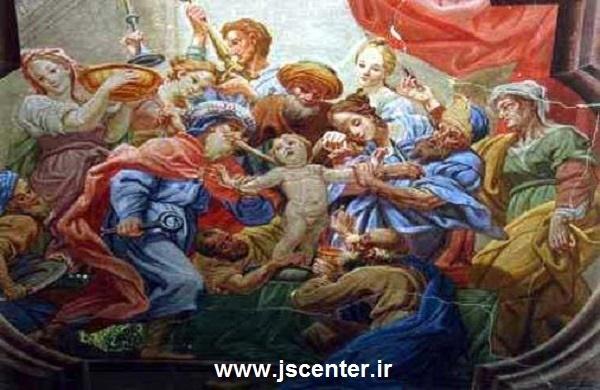 یهودیان در حال کشتن کودک