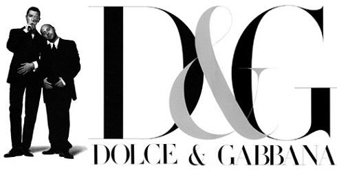 Domenico Dolce snd Stefano Gabbana