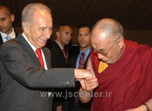دالایی لاما و شیمون پرز