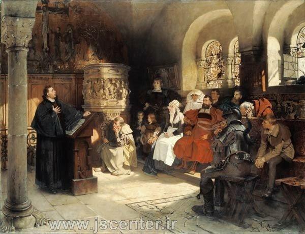 مارتین لوتر و پروتستانتیزم