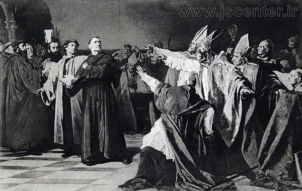 مارتین لوتر پروتستانتیسم