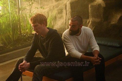 ناتان و کالب در فیلم فراماشین