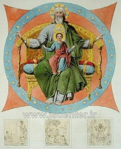 خدا در کلیسای جامع عروج مریم مقدس در مسکو