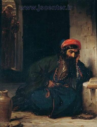 زندانی یهودی ماجرای دمشق و راهب کاپیوشن