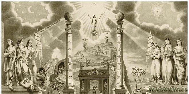 فراماسونری و اسطوره ستونها