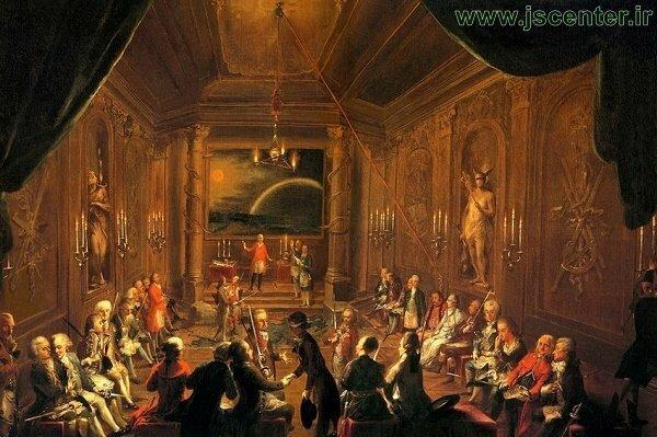 موتزارت در لژ وین