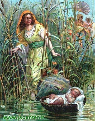 موسی در آب