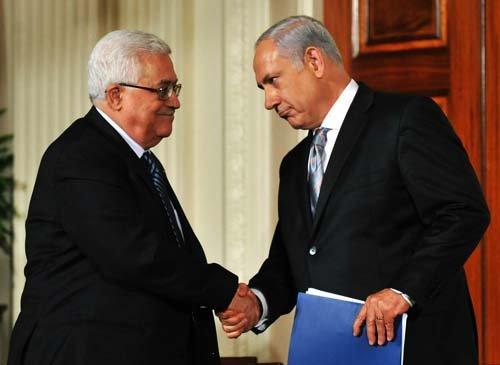 نتانیاهو و محمود عباس