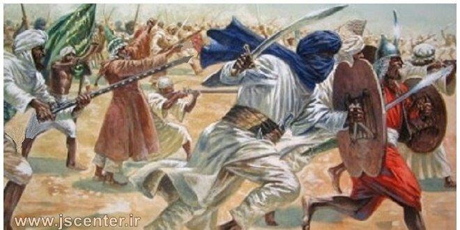 جنگهای خلفا و منفعت یهود