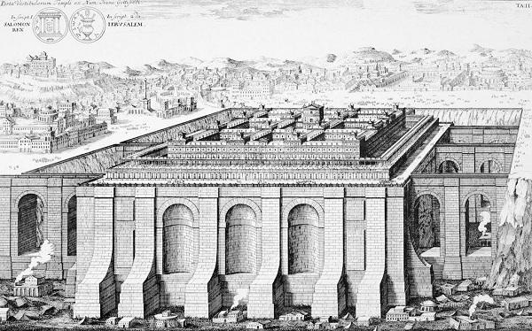 نقاشی معبد سلیمان