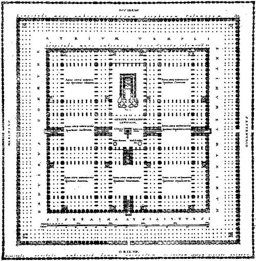نقشه معبد سلیمان