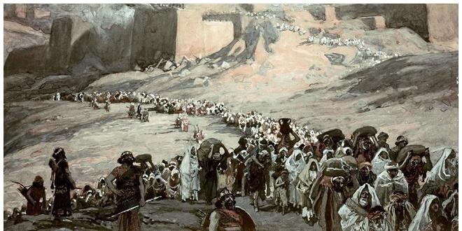 اسطوره تبعید یهودیان به بابل