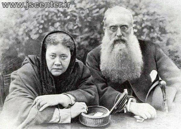 کلنل الکات و مادام بلاواتسکی