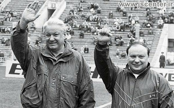ایگور گایدار و بوریس یلتسین