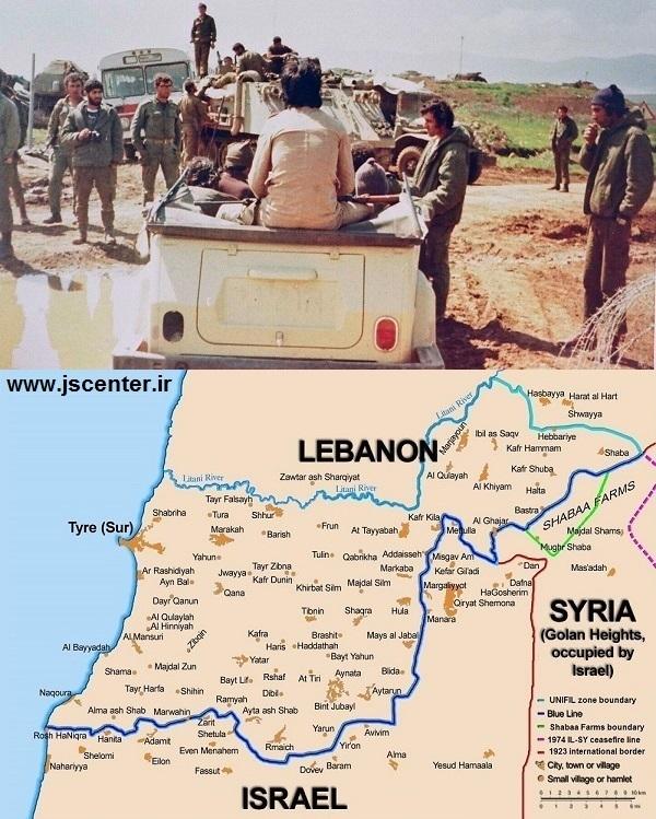 عملیات لیتانی یا جنگ جنوب لبنان بین اسرائیل و لبنان 1978