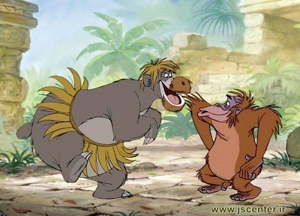 نژاد سیاه و میمون