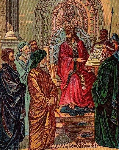 سلیمان و نقشه معبد