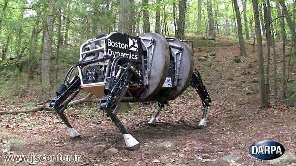 ربات ساخته شده توسط سازمان دارپا