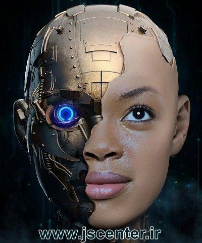 روبات نیمه انسان نیمه ماشین