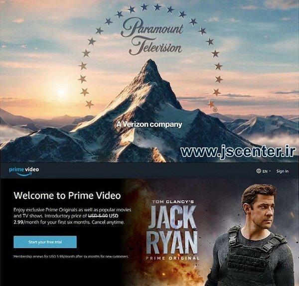 سریال جک رایان تام کلنسی پارامونت پیکچرز