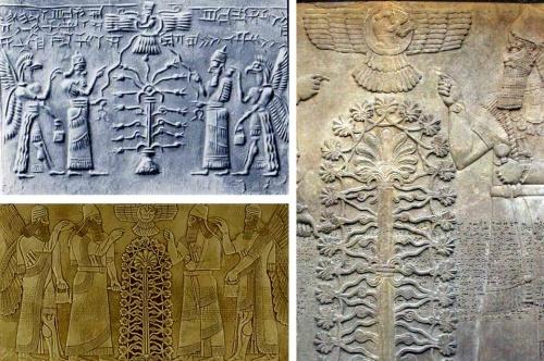 فروهر در تمدنهای باستانی بینالنهرین