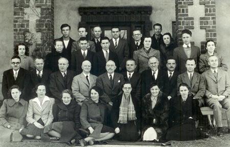 اولین تیم تشکیل دهنده بنیاد کارنگی