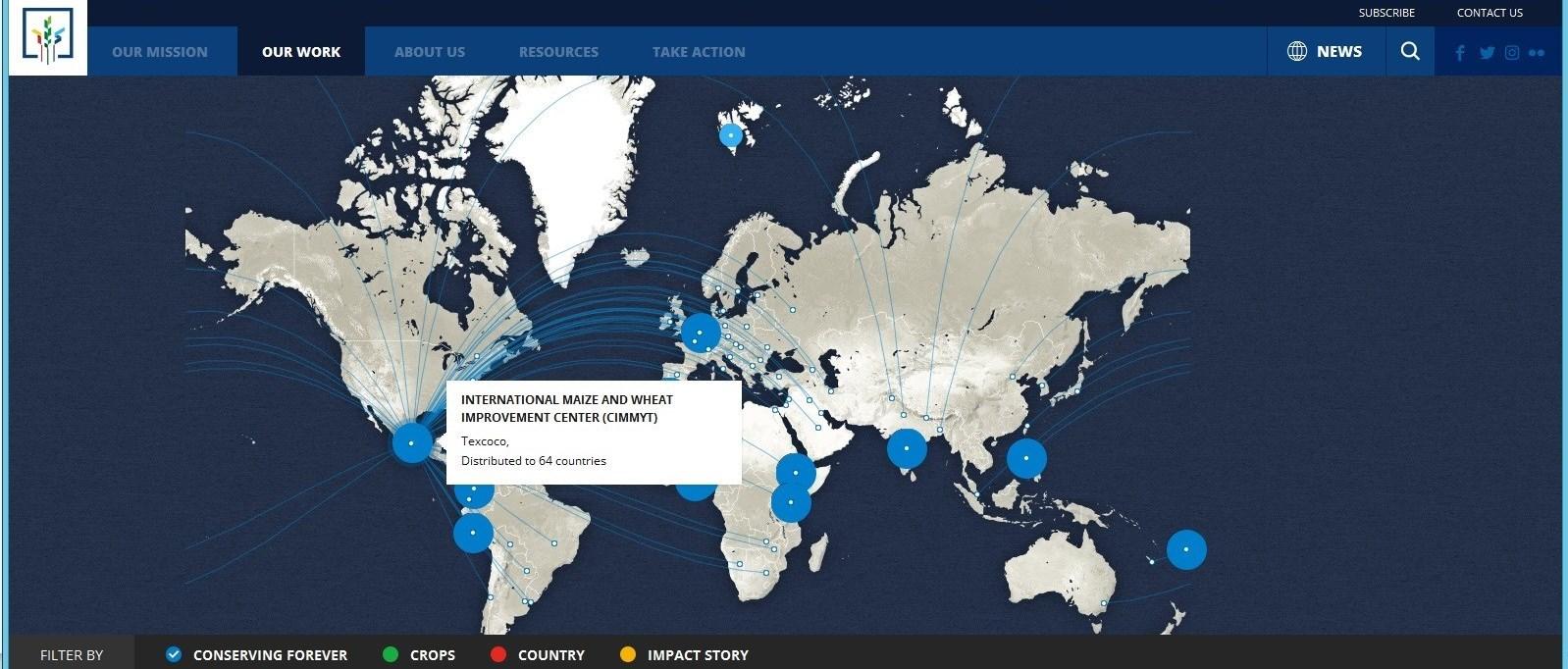 تصویری از شبکه گسترده سیمیت با سراسر جهان