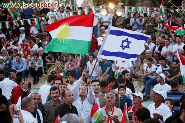جولان صهیونیستها در اقلیم کردستان