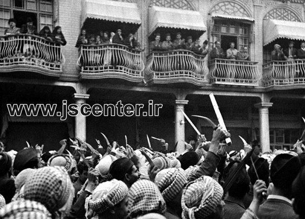 درگیری مسلمانان و یهودیان عراق در حادثه فرهود
