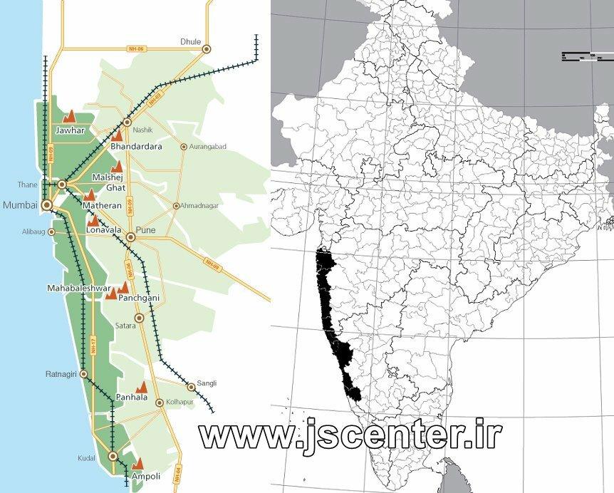 موقعیت جغرافیایی منطقه کنکان