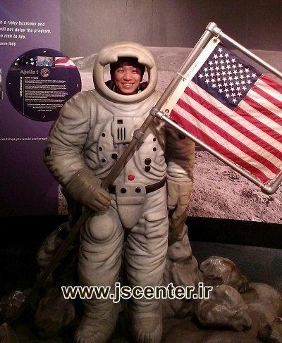 ماکت فضانورد آمریکایی