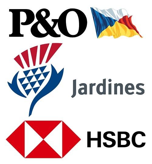 کمپانی P&O جردن ماتیسون و بانک HSBC