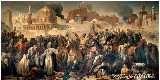 جنگهای صلیبی به نام مسیح به کام یهود