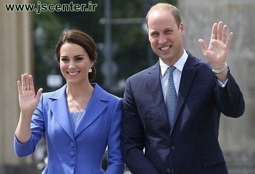 پرنس ویلیام و همسرش کیت میدلتون زوج یهودی