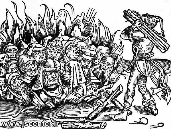 یهودستیزی در اسپانیا و سوزاندن یهودیان