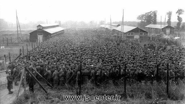 اسیران آلمانی در زندان متفقین