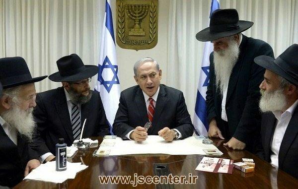 دیدار حاخام های خباد با بنیامین نتانیاهو