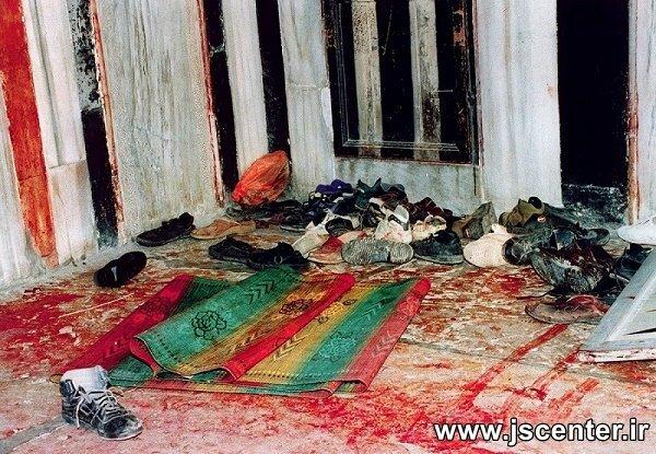 کشتار در مسجد ابراهیمی الخلیل