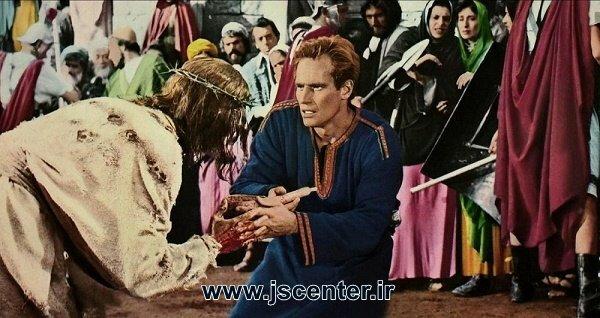 بن هور در حضور عیسی مسیح