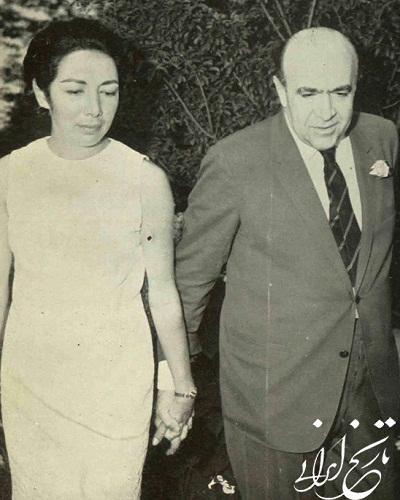 لیلا امامی همسر امیرعباس هویدا