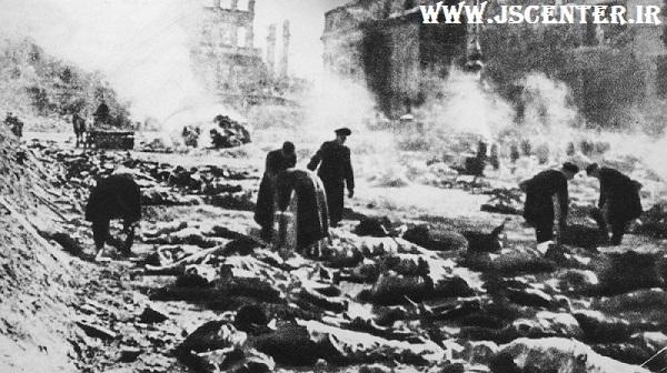 بمباران شهر درسدن آلمان