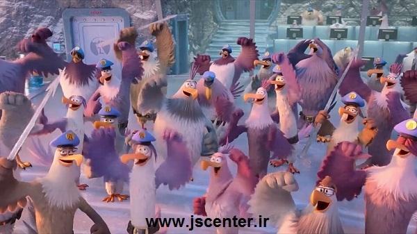 عقابها در پرندگان خشمگین