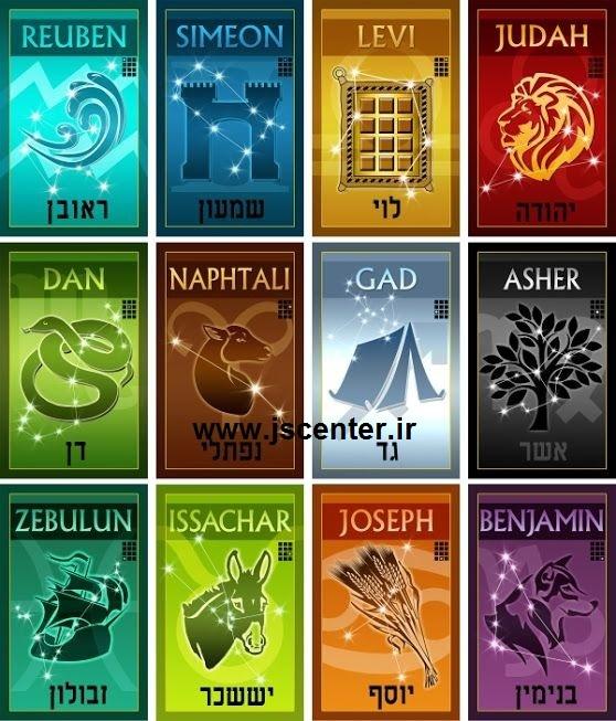 نشان دوازده سبط بنیاسرائیل